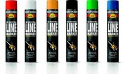 Farba do malowania linii - spray Hard Hat 2300 RUST-OLEUM - 750ml