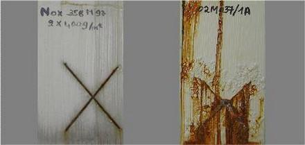 Farba antykorozyjna Noxyde - ochrona metalowych krawędzi